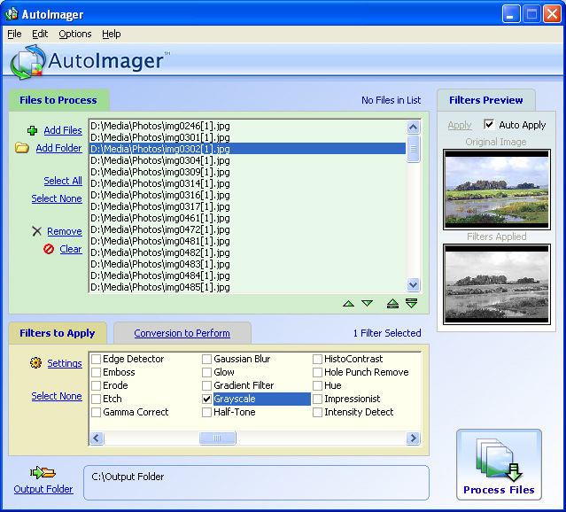 Batch image processing/conversion software supporting 140 formats and operations